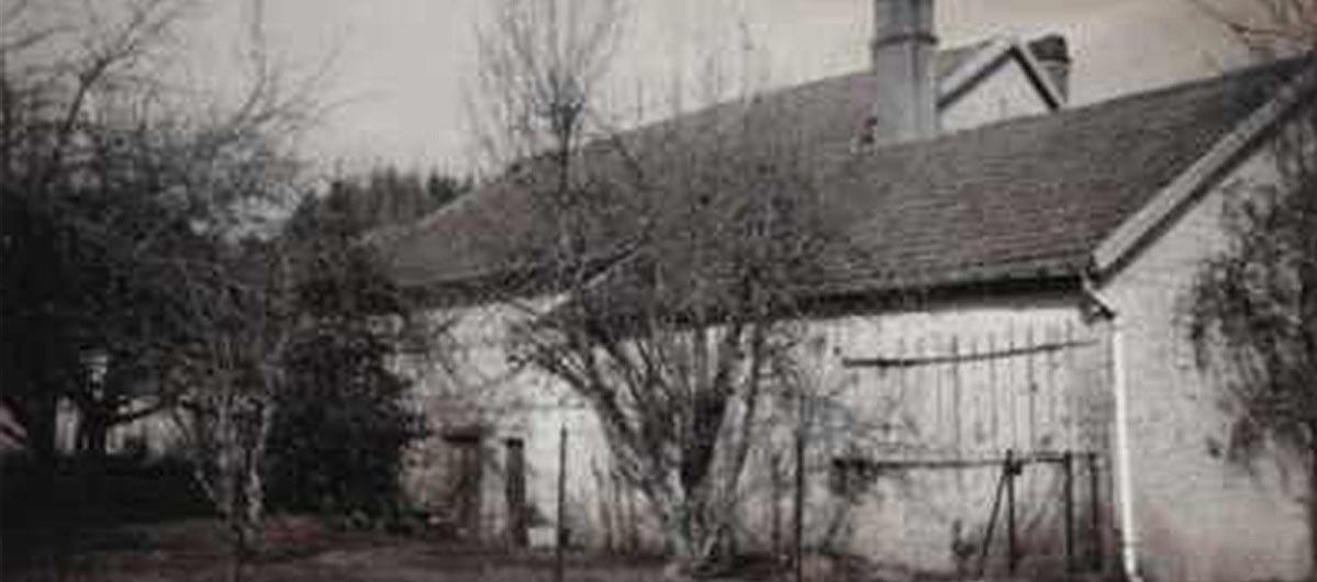 origine du gîte Jardin de Taintrux